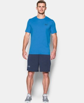 Best Seller Men's UA Charged Cotton® Left Chest Lockup T-Shirt  1 Color $17.99