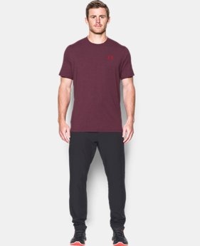 Best Seller Men's UA Charged Cotton® Left Chest Lockup T-Shirt  17 Colors $24.99
