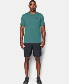 Best Seller Men's UA Charged Cotton® Left Chest Lockup T-Shirt  3 Colors $22.99 to $24.99