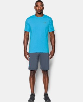 Best Seller Men's UA Charged Cotton® Left Chest Lockup T-Shirt  1 Color $17.49