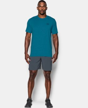 Best Seller Men's UA Charged Cotton® Left Chest Lockup T-Shirt  2 Colors $17.49