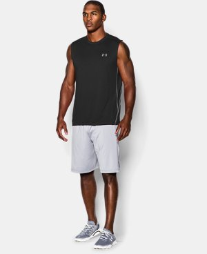 Men's UA Tech™ Sleeveless T-Shirt LIMITED TIME: FREE U.S. SHIPPING 2 Colors $14.24 to $18.99