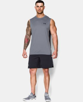 Men's UA Tech™ Sleeveless T-Shirt LIMITED TIME: FREE U.S. SHIPPING 1 Color $18.99