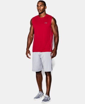 Men's UA Tech™ Sleeveless T-Shirt LIMITED TIME: FREE U.S. SHIPPING 1 Color $14.24 to $18.99