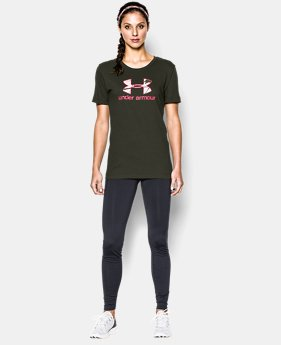 Women's UA Camo Logo Short Sleeve T-Shirt