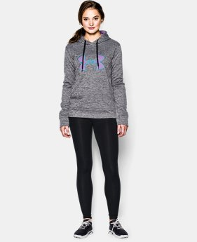 Women's UA Big Logo Applique Twist Hoodie  1 Color $44.99