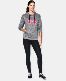 Women's UA Big Logo Applique Twist Hoodie  1 Color $33.74