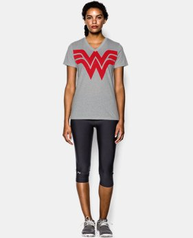 Women's Under Armour® Alter Ego Wonder Woman V-Neck