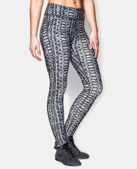 Women's UA HeatGear® Armour Printed