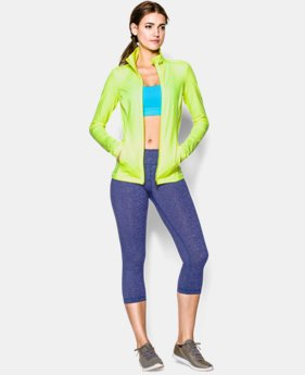 Women's UA Studio Ribbed Jacket