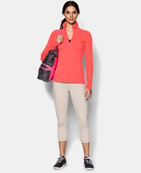 Women's UA Studio Ribbed Jacket LIMITED TIME: FREE U.S. SHIPPING 1 Color $44.99 to $55.99