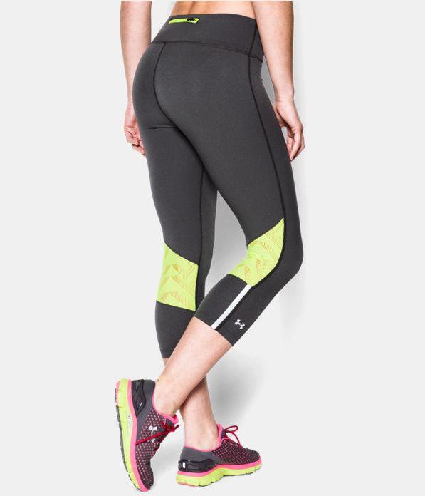 417ee451d2 Women's UA Stretch Woven ArmourVent™ Run Capri