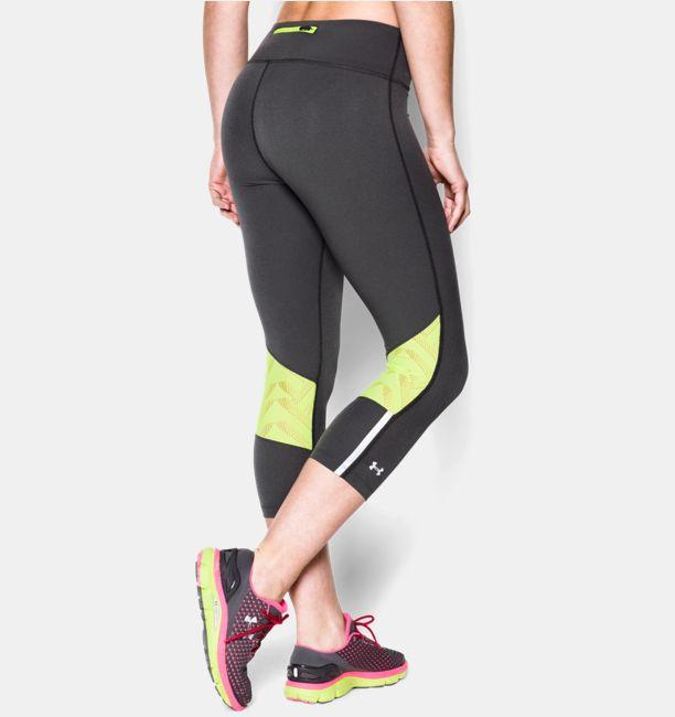 Women's UA Stretch Woven ArmourVent™ Run Capri | Under Armour US