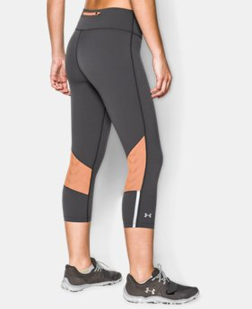 Women's UA Stretch Woven ArmourVent™ Run Capri