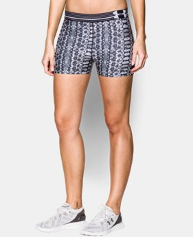 "Women's UA HeatGear® Alpha Printed 3"" Shorty  3 Colors $17.99 to $21.99"