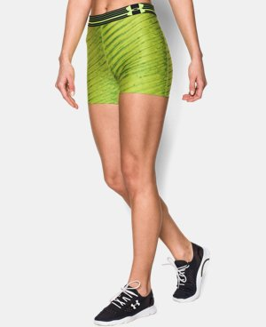 "Women's UA HeatGear® Alpha Printed 3"" Shorty  1 Color $26.99"