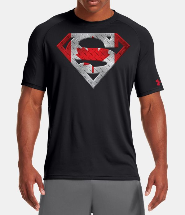 Men S Canada Under Armour Superman T Shirt Under Armour Ca