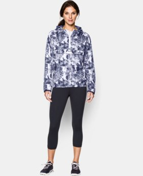 Women's UA Lightweight Pop Over Printed Jacket