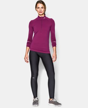 Women's UA Run Seamless ½ Zip  1 Color $59.99