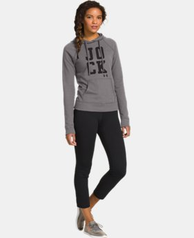 Women's UA Pretty Gritty Jock Hoodie  1  Color Available $35.99