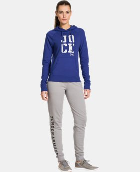 Women's UA Pretty Gritty Jock Hoodie  1 Color $35.99 to $44.99