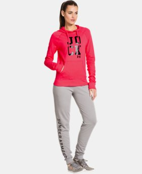 Women's UA Pretty Gritty Jock Hoodie  1 Color $44.99