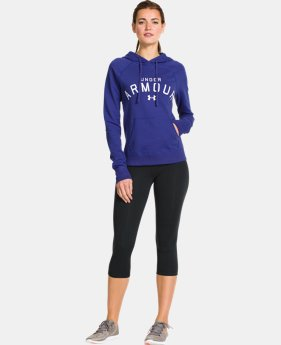 Women's UA Pretty Gritty Blackout Hoodie  1 Color $35.99