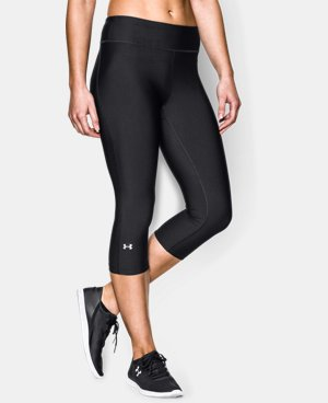 Women's UA HeatGear® Armour Capri LIMITED TIME: FREE U.S. SHIPPING 1 Color $26.99
