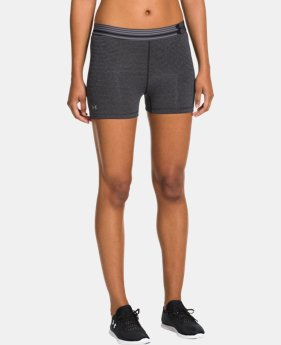Women's UA HeatGear® Armour Striped Shorty
