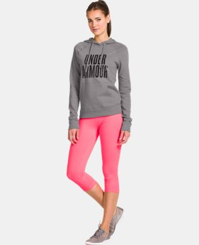 Women's UA Pretty Gritty Stacked Hoodie