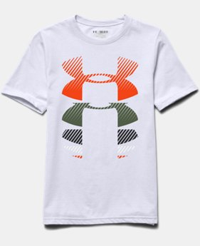 Boys' UA Rising Logo T-Shirt