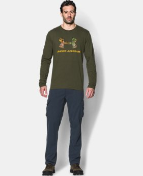 Men's UA Camo Fill Long Sleeve T-Shirt   $22.99