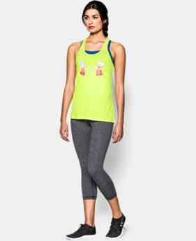 Women's UA Charged Cotton® Tri-Blend Spring Break Tank  1 Color $18.99
