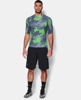 Men's UA Army Of 11 ½ Sleeve Compression Shirt
