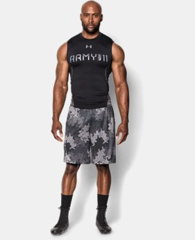 Men's UA Army Of 11 Sleeveless Compression Shirt   $26.99