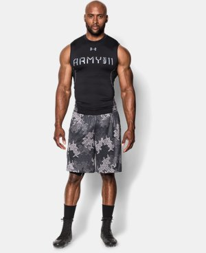 Men's UA Army Of 11 Sleeveless Compression Shirt  2 Colors $26.99