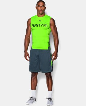 Men's UA Army Of 11 Sleeveless Compression Shirt