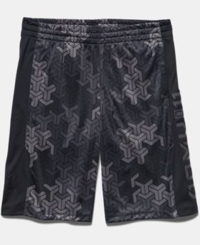 Boys' UA Army Of 11 Shorts