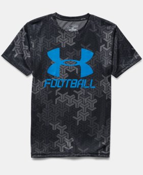 Boys' UA Big Logo Football T-Shirt