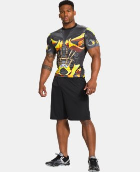 Men's Under Armour® Alter Ego Transformers Bumblebee Compression Shirt