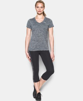 Women's UA Tech™ Twist V-Neck LIMITED TIME: FREE SHIPPING 1 Color $24.99