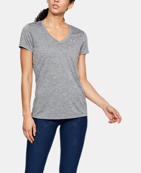 Women's UA Tech™ Twist V-Neck  2  Colors Available $18.74