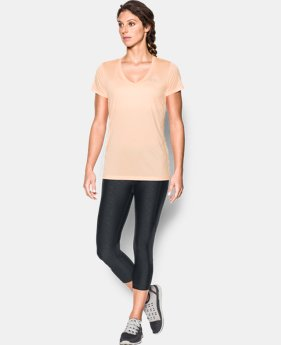 Women's UA Tech™ Twist V-Neck  1  Color Available $18.99