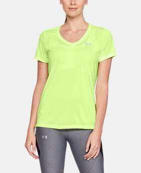 Best Seller Women's UA Tech™ Twist V-Neck FREE U.S. SHIPPING  $24.99