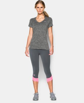 Best Seller Women's UA Twist Tech™ V-Neck LIMITED TIME: FREE U.S. SHIPPING 4 Colors $18.99 to $24.99