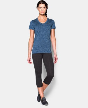 Women's UA Twist Tech™ V-Neck LIMITED TIME OFFER + FREE U.S. SHIPPING 5 Colors $18.74