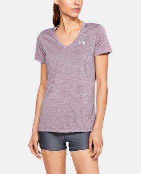 4bbe0524 Women's UA Tech™ Twist V-Neck LIMITED TIME: 25% OFF 1 Color. 1 Color  Available. Purple Prime