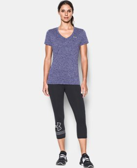 Women's UA Tech™ Twist V-Neck  1 Color $18.99 to $19.99