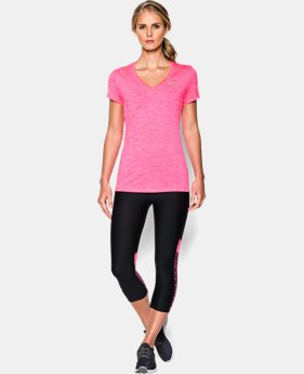 Best Seller Women's UA Twist Tech™ V-Neck LIMITED TIME: FREE U.S. SHIPPING 3 Colors $18.99 to $24.99