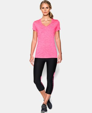 Best Seller Women's UA Twist Tech™ V-Neck LIMITED TIME OFFER + FREE U.S. SHIPPING 2 Colors $18.99 to $24.99